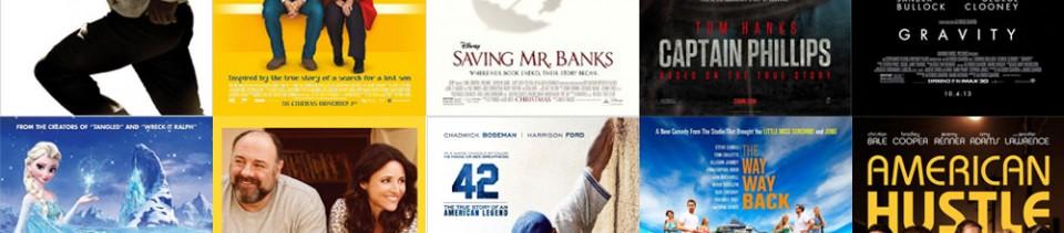 Top Ten Films of 2013