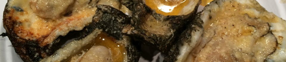 JT's It's not Rocket Science Char-Grilled Oysters