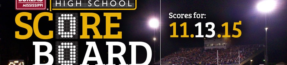 HS Football Scores for 11.13.16