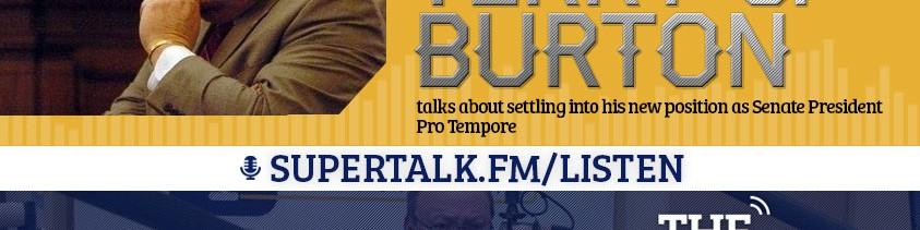 GalloSnippet: Sen. Terry C. Burton & a Caller on Trump