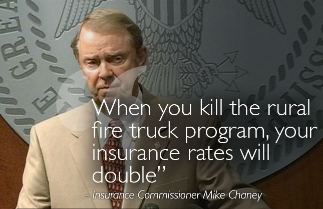 Insurance Commissioner Mike Chaney Vents Frustrations with Legislature