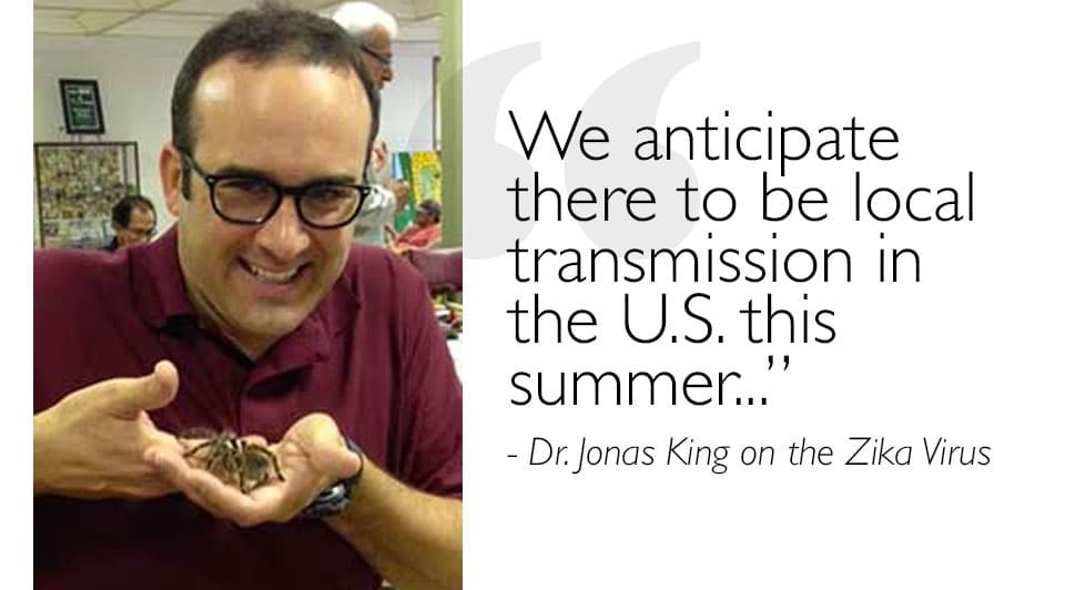 Dr. Jonas King Educates on Zika Virus