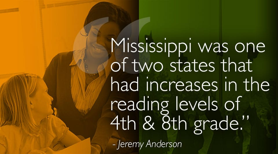 Mississippi Receives Award for Innovation for Education Reform