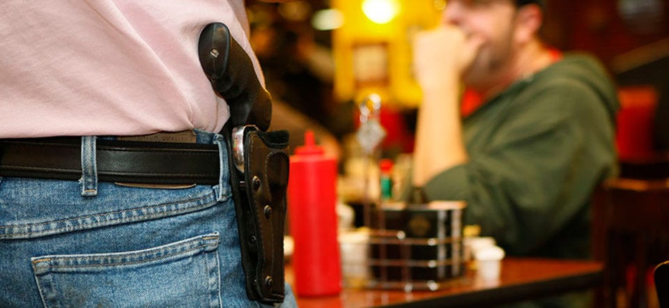 Legality of Being Kicked out of a Business for Open Carry