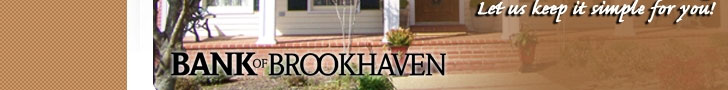 Bank of Brookhaven Banner Ad