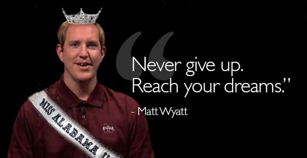 Matt Wyatt Gives Advice to Pageant Girls