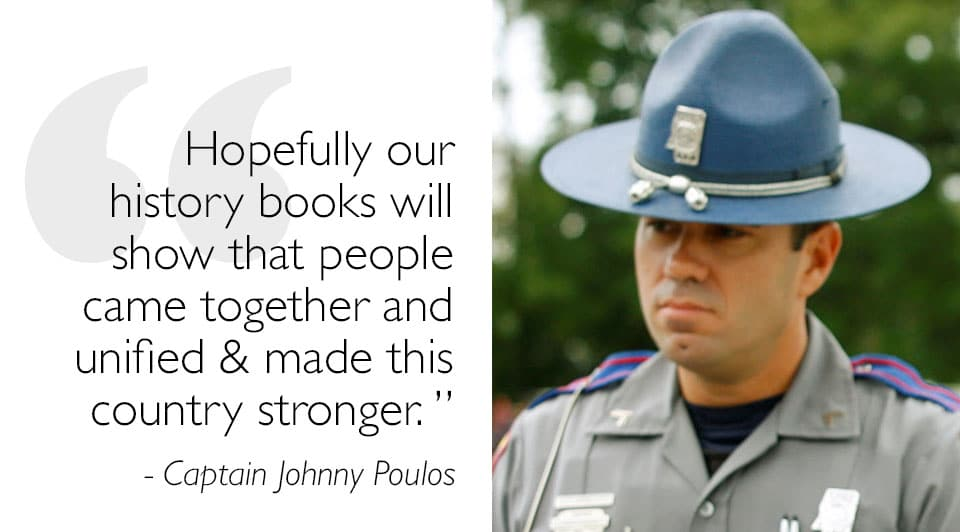 Captain Johnny Poulos on the Recent Police Shootings