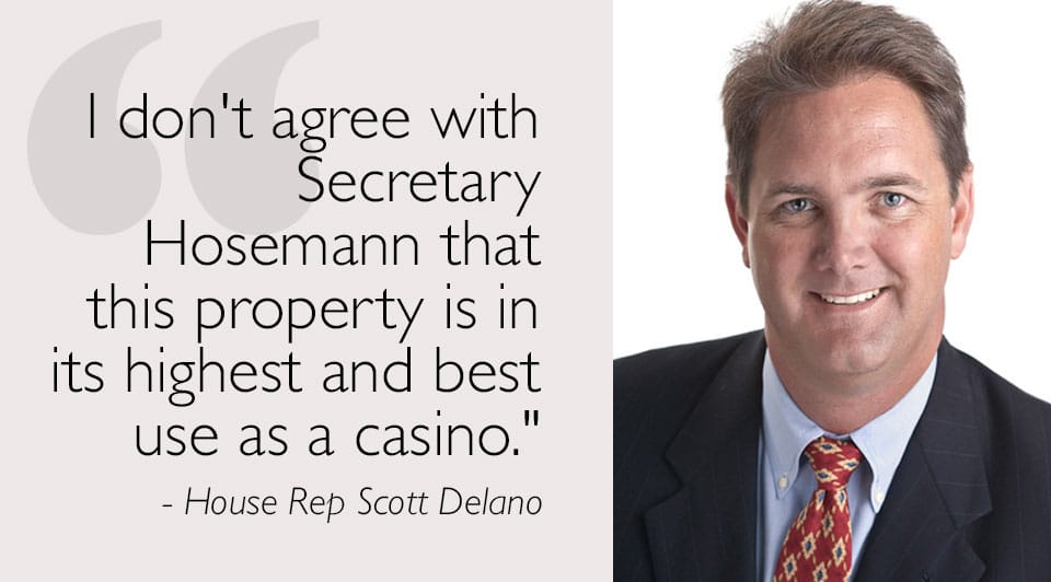 House Rep Scott Delano Voices His Opinion on the Tidelands and Rezoning