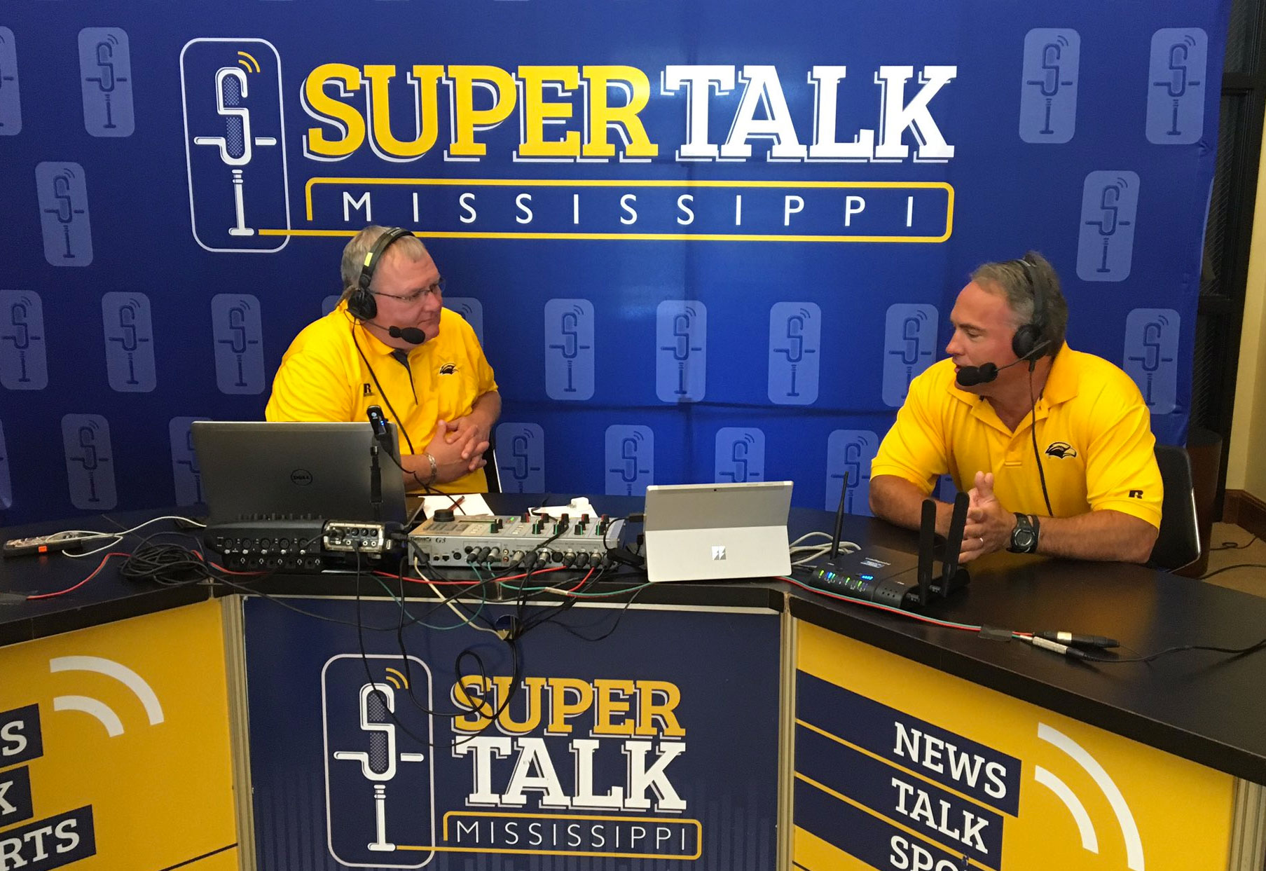 USM Head Football Coach Jay Hopson Joined the JT Show LIVE