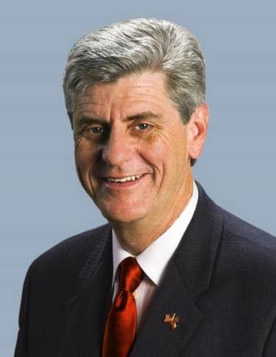 Governor Phil Bryant gives an update on the Gallo Show