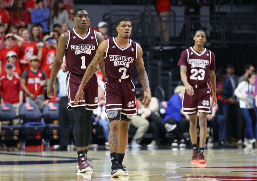WATCH: Mississippi State Hits the Court in San Jose For Tomorrow's NCAA Tournament Game