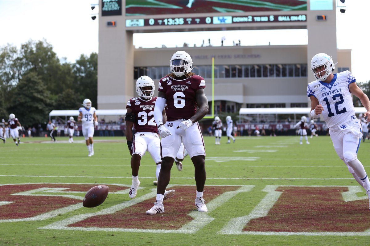 Mississippi State Finds Its Way Back in 28-13 Victory Over Kentucky