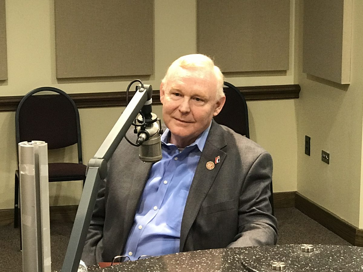 Rep. Dana Criswell Makes a Stop by the SuperTalk Studio