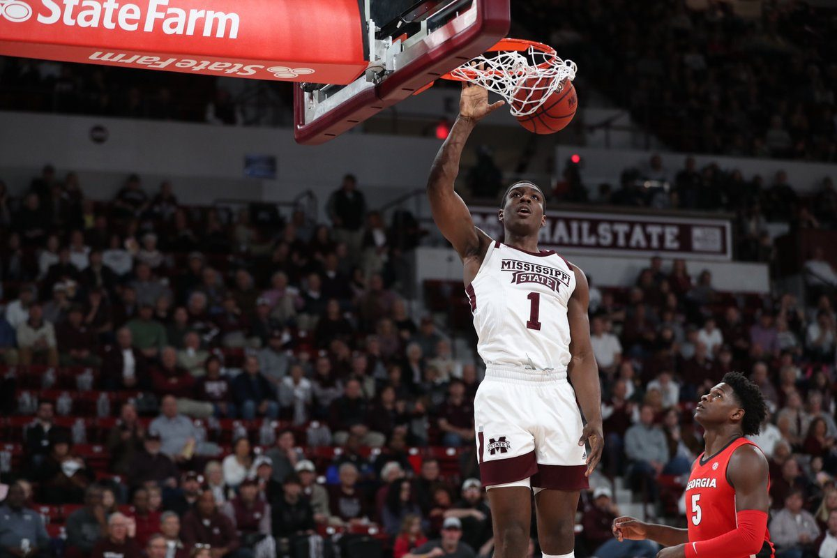 Mississippi State's Reggie Perry Declares for NBA Draft