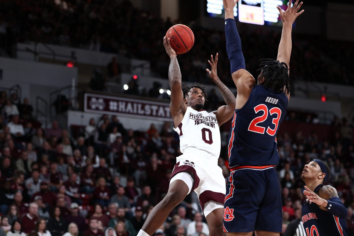 Mississippi State Can't Find Enough Offense, Falls to Auburn 80-68