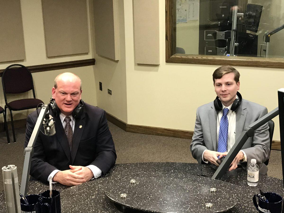 Senator Brice Wiggins Joins the Conversation in the SuperTalk Studio