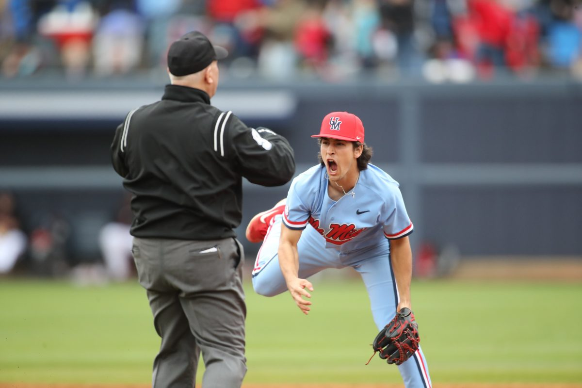 Newcomers show promise, veterans deliver as Ole Miss takes series from No. 1 Louisville