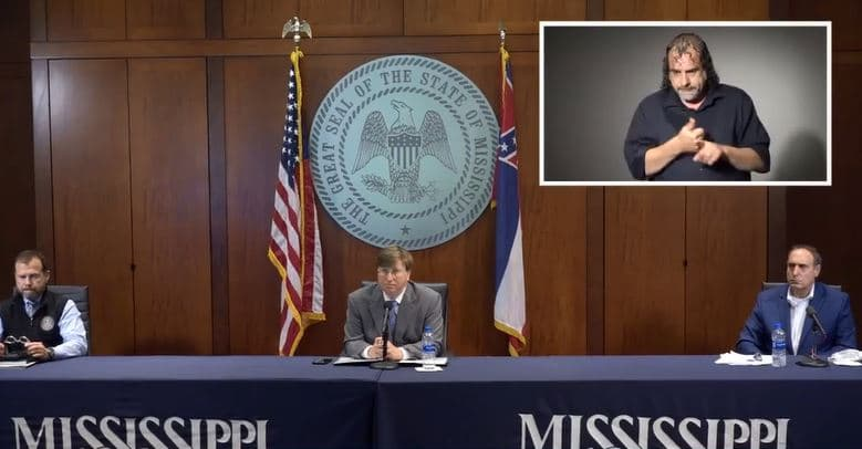 WATCH: Governor Reeves' Wednesday COVID19 Press Briefing