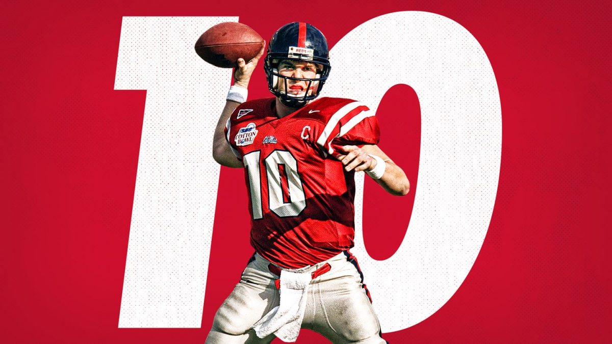 Ole Miss to retire Eli Manning's jersey this fall
