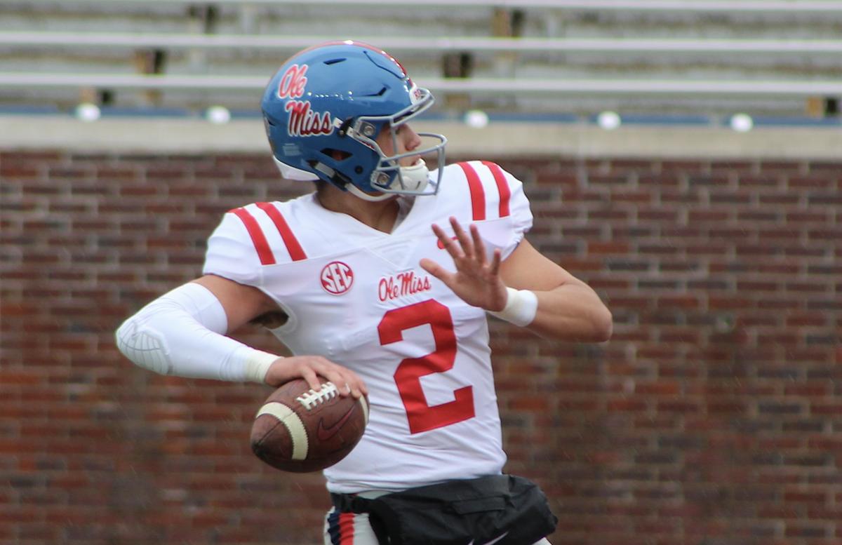 Seven turnovers doom Rebels in 33-21 loss to Arkansas
