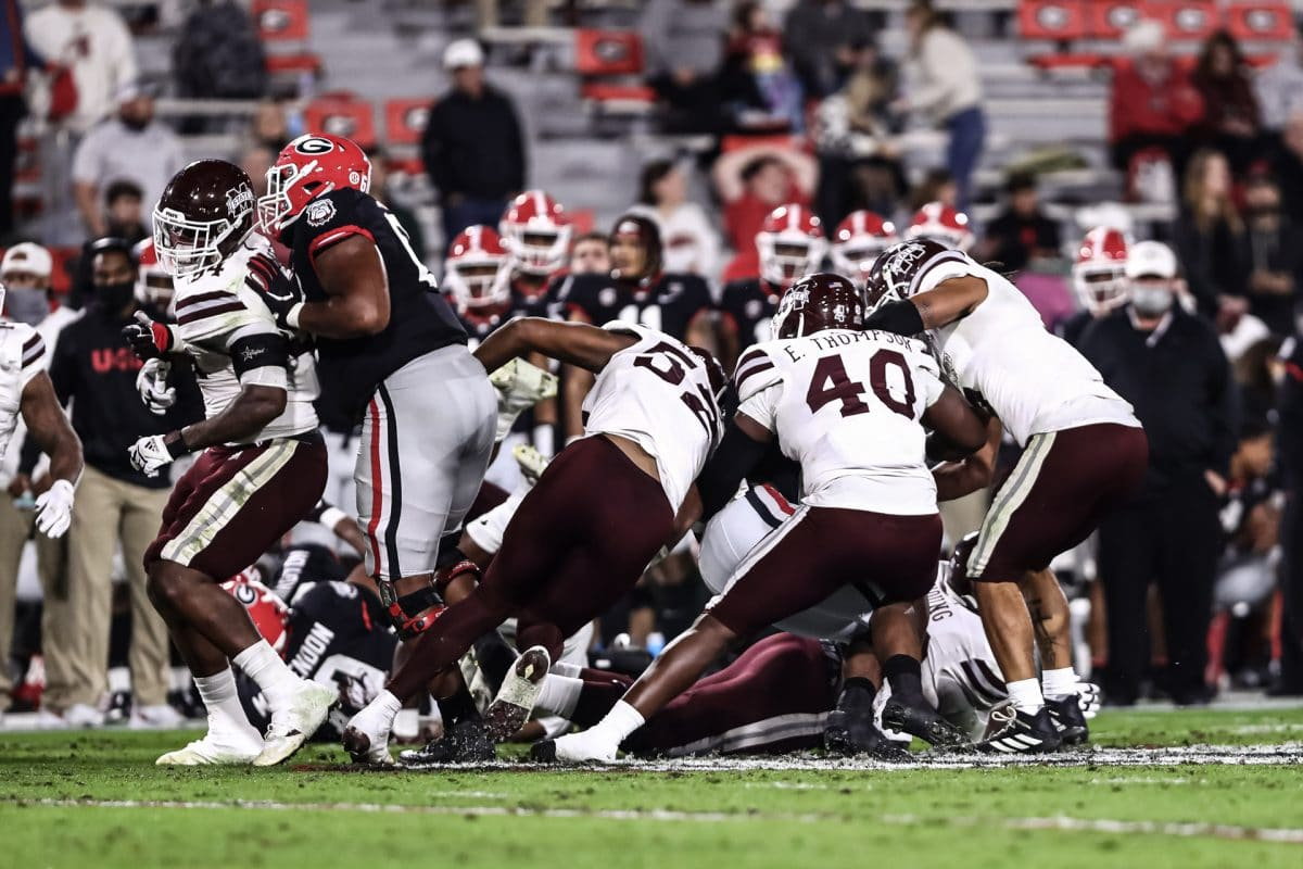 Mississippi State Falls to Georgia 31-24 in Massively Shorthanded Effort